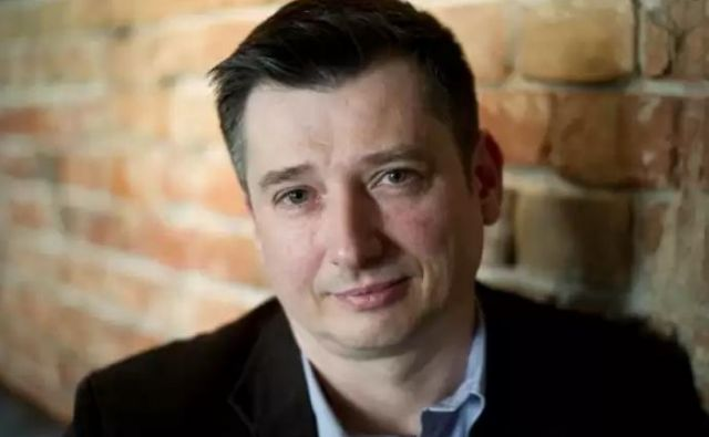Poljski pisatelj Igor Ostachowicz. FOTO: arhiv založbe