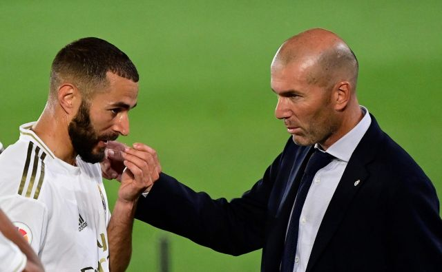 Karim Benzema sodi med nedotakljive kamenčke v mozaiku trenerja Zinedina Zidana. FOTO: Javier Soriano/AFP