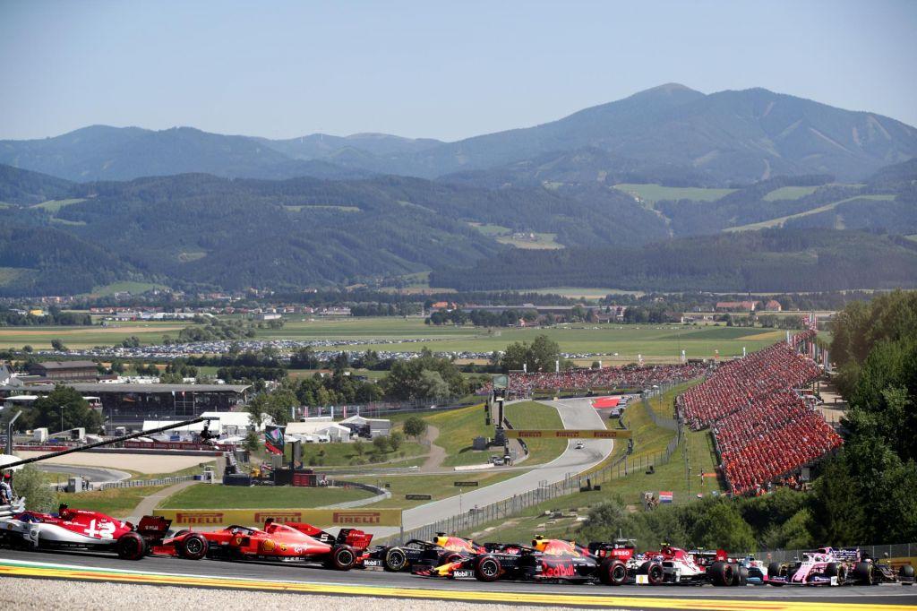 V Avstriji množična testiranja pred nedeljsko dirko formule 1