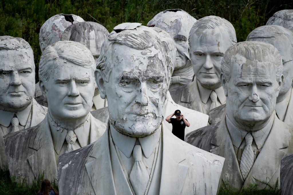 FOTO:Ameriško obračunavanje z Woodrowom Wilsonom