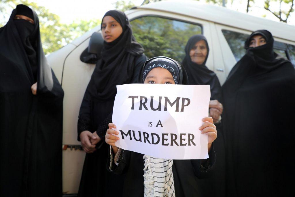 Iran s tiralico nad Donalda Trumpa