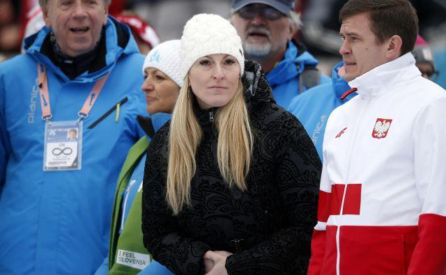 Predsednik Svetovne protidopinške agencije (WADA) Witold Banka je v vlogi poljskega ministra šport in turizem obiskal tudi Planico. FOTO: Matej Družnik/Delo