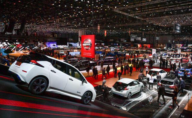 Avtomobilske razstave v Ženevi tudi v letu 2021 ne bo.<br /> Foto Fabrice Coffrini / AFP