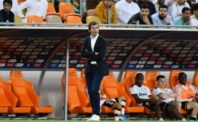 Tudi v Španiji trenerjem nenehoma gori pod nogami. Zadnji se je na seznamu odstavljenih znašel Alber Celades, trener Valencie. FOTO: Waleed Ali/Reuters