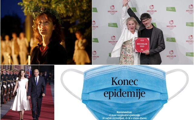 Junija so bile najbolj brane zgodbe o koronavirusu, politiki ter kulinaričnih in knjižnih uspehih. FOTO: Blaž Samec/Uroš Hočevar/Jure Eržen/Delo