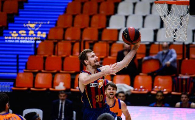 Zoran Dragić je prestopil v Baskonii 30. januarja letos in z njo osvojil naslov španskega prvaka v skrajšanem prvenstvu. FOTO: ACB