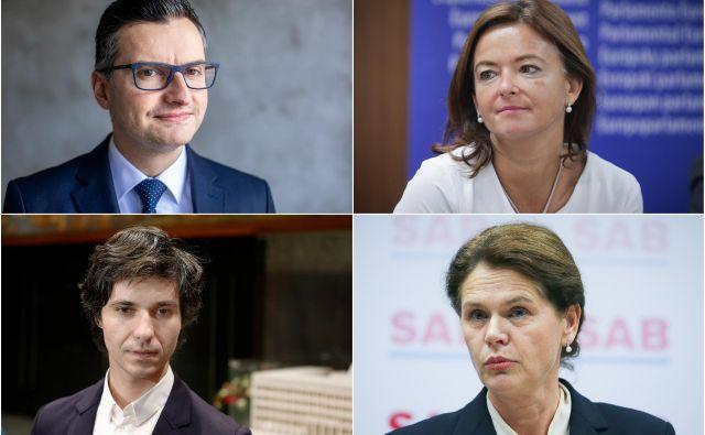 Po odstopu notranjega ministra opozicija že govori o razpadu koalicije in konstruktivni nezaupnici. FOTO: Voranc Vogel/Jože Suhadolnik/Blaž Samec/Delo