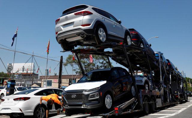 Prodaja avtomobila je junija glede na isti lanski mesec upadla za slabe tri odstotke: Boljši kot lani je bil trg junija v Franciji.<br /> FOTO: Shannon Stapleton/Reuters
