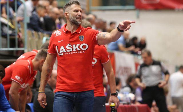 Celjski trener Tomaž Ocvirk verjame v možnost presenečenja kljub močni skupini lige prvakov. FOTO: Tadej Regent
