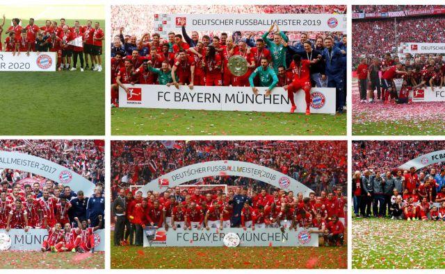Bavarci kraljujejo nemškemu nogometu že vrsto let. FOTO: Reuters