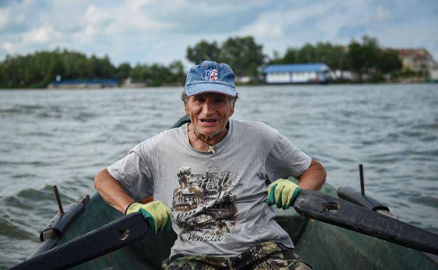 Iosif Acsente se rad pohvali, da bi ga lahko v delto vrgli s helikopterja in bi takoj vedel, kje je. FOTO: Daniel Mihailescu/AFP