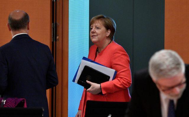 Pričakovati je, da bo v sklepni fazi pogajanj spet najpomembnejšo vlogo imela nemška kanclerka Angela Merkel. FOTO: John MacDougall/Reuters