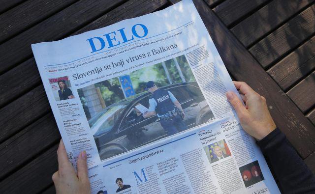 Kot je komentiral predsednik dežele Benečije <strong>Luca Zaia</strong>, ki je prvi sprostil prepoved, je ponudba časopisov v lokalih »civilizacijska norma«. FOTO: Jože Suhadolnik/Delo