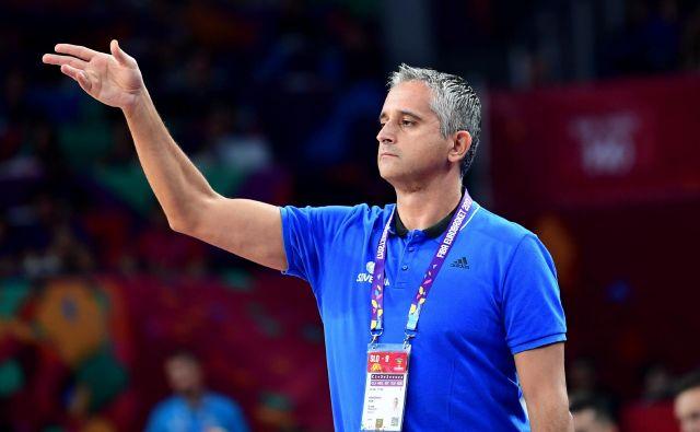 Igor Kokoškov je pred tremi leti popeljal slovensko reprezentanco do zlate kolajne na evropskem prvenstvu. FOTO: Ozan Kose/AFP