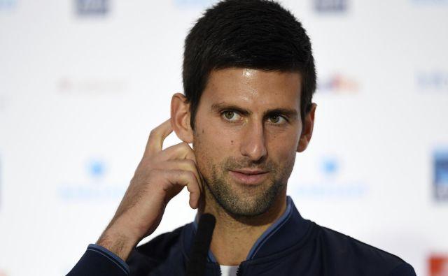 Novak Đoković si lahko spet oddahne. FOTO: Tony O'brien/Reuters