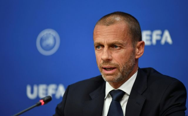 Aleksander Čeferin je izpostavil, da morajo program HatTrick uporabiti za napredek nogometa in izboljšavo infrastrukture. FOTO: Reuters