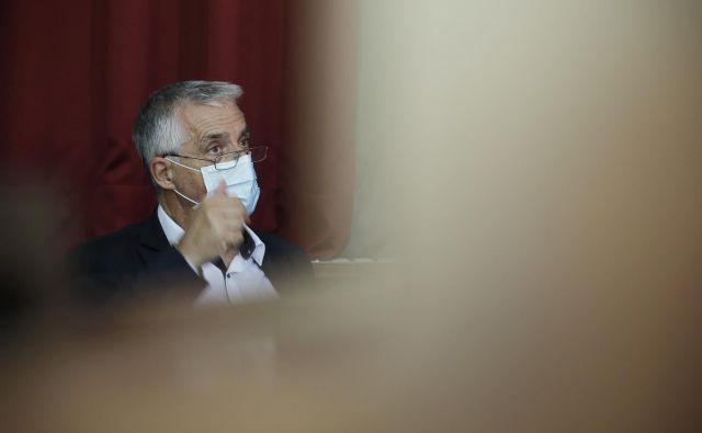Na Zdravniški zbornici pričakujejo, da bo minister za zdravje Tomaž Gantar umaknil neutemeljene izjave o neodgovornosti ravnanja zdravnika. FOTO: Jure Eržen/Delo