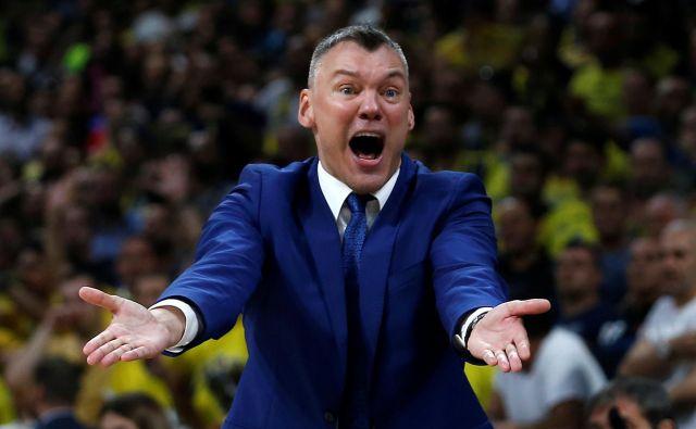 Šarunas Jasikevičius bo naslednja tri leta vodil košarkarje Barcelone. FOTO: Alkis Konstantinidis/Reuters