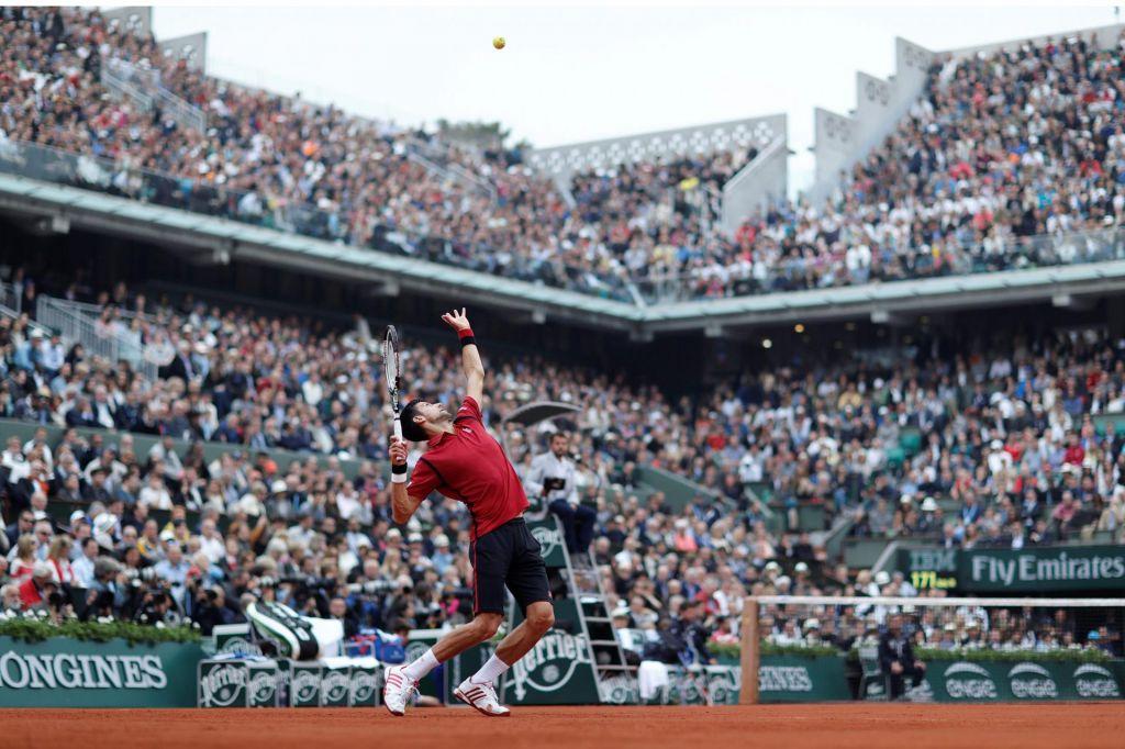 Gledalci vljudno vabljeni na Roland-Garros, na US Open ne