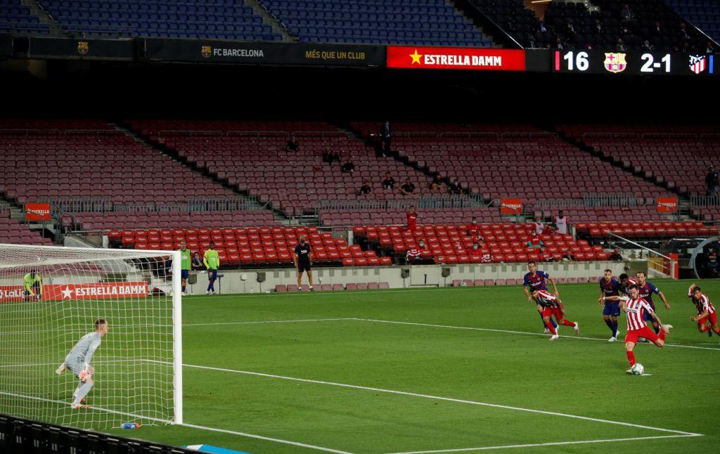 Španska liga se bo končala za zaprtimi vrati