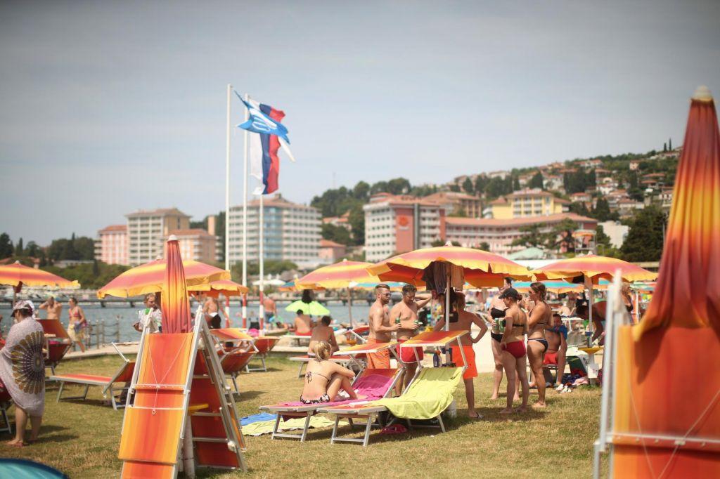 Za živahen utrip Portoroža skrbijo Slovenci