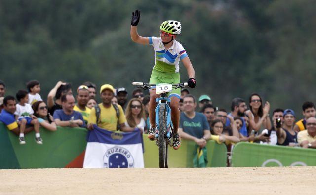 Tanje Žakelj je pred štirimi leti tekmovala na OI v Riu de Janeiro, Tokio se ji je letos izmuznil. FOTO: Matej Družnik/Delo