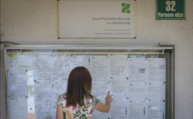Interventni ukrepi in preklic epidemije sta razloga za zmanjšanje brezposelnosti v juniju. FOTO: Jože Suhadolnik/Delo