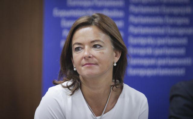 Predsedujoča SD Tanja Fajon je že dogovorjena za srečanje z Marto Kos, ki je predčasno odstopila s funkcije slovenske veleposlanice v Švici.<br /> FOTO: Jože Suhadolnik/Delo
