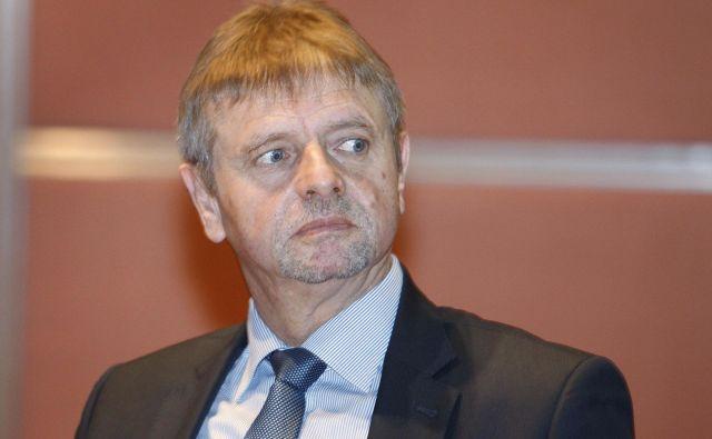 Predsednik uprave Darsa Tomaž Vidic se bo, kot kaže, v prihodnjih dneh moral posloviti z vrha družbe. Foto Leon Vidic