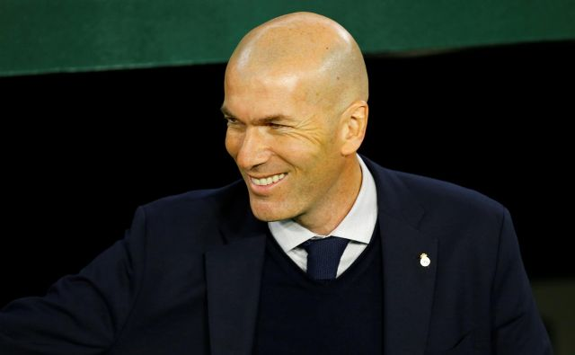 Seveda se mu smeji, obeta se mu nov naslov španskega prvaka, prvi po letu 2017. FOTO: Marcelo Del Pozo/Reuters