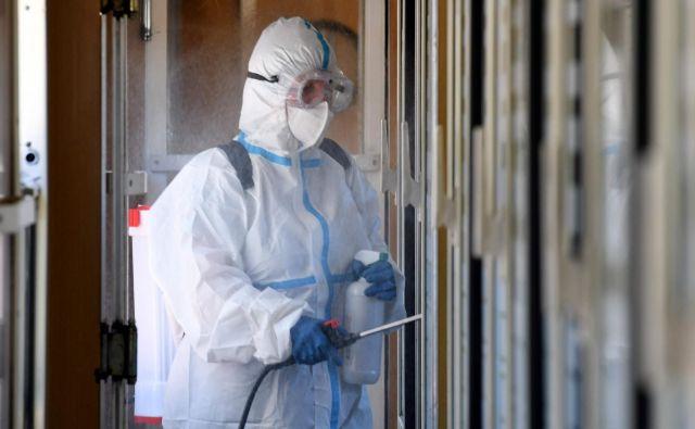 Nov primer okužbe so odkrili v Umagu. FOTO: Denis Lovrovic/Afp