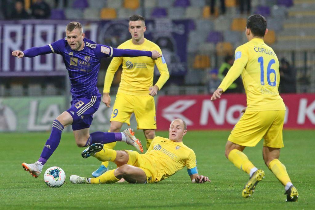 FOTO:Maribor ohranil stik z Olimpijo z golom Tavaresa v 94. minuti