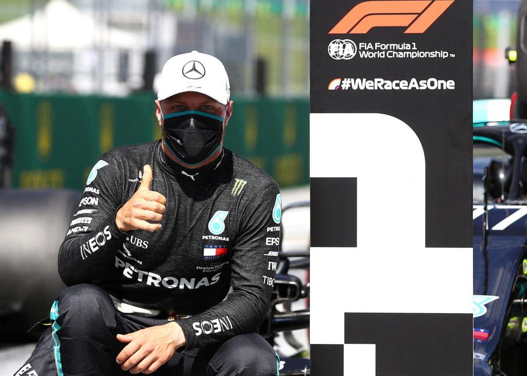 Bottas očaran nad svojo »črno puščico«, kazen za Hamiltona