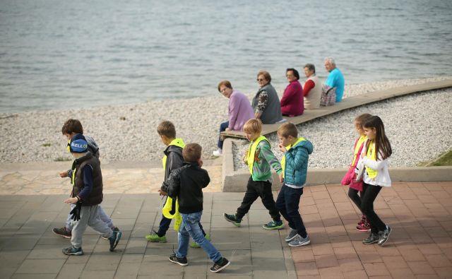 Prebivalstvo Slovenije bo čedalje starejše, leta 2100 naj bi bila skoraj tretjina starejših od 65 let, kažejo projekcije Eurostata. FOTO: Jure Eržen/Delo