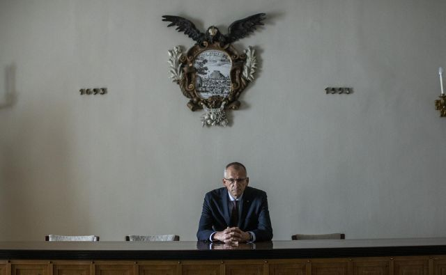 Dr. Peter Štih, zgodovinar, predsednik SAZU Foto Voranc Vogel