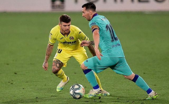 Lionel Messi naj le ne bi zapustil Camp Noua. FOTO: Jose Jordan/AFP