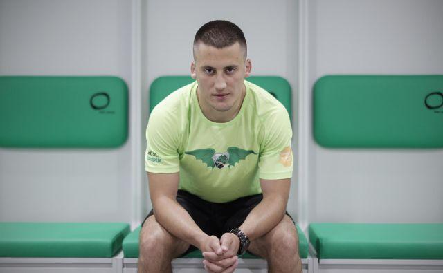 Martin Bohinc ne da veliko na osebno statistiko, zanima ga moštveni uspeh. FOTO: Uroš Hočevar