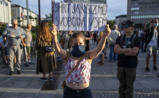 Verjetno to ni neka nova ideologija, saj se vendarle tudi fašizem ni poimenoval po Benitu Mussoliniju. Foto Voranc Vogel/Delo