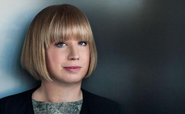 Švedska avtorica kriminalk Kristina Ohlsson. FOTO: osebni arhiv