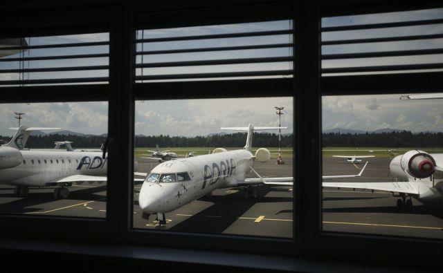 Letala Adrie Airways so na tleh, najbrž za vedno. Foto Jure Eržen