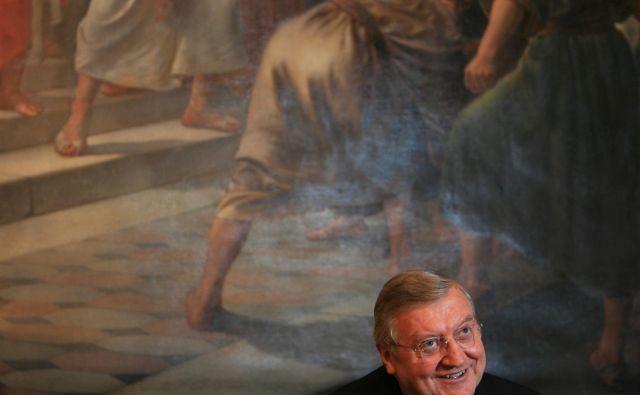 Dvanajstega julija mineva petdeset let od prve maše Alojza Urana v domači župnijski cerkvi v Šmartnem pod Šmarno goro. FOTO: Uroš Hočevar