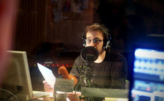 Radio Študent, najstarejši neodvisni radio v Evropi, je na robu propada. FOTO: Uroš Hočevar/Delo