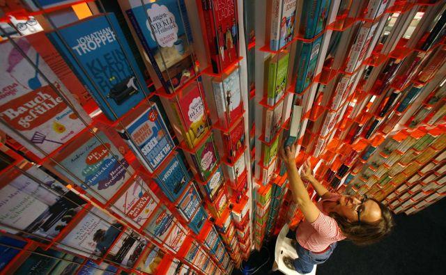 Tudi Frankfurtski knjižni sejem je zamajala globalna pandemija. FOTO: Reuters