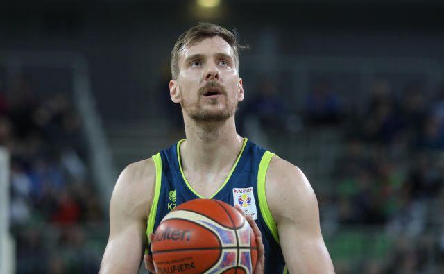 Zoran Dragić je ponosen, ker na poti do španske lovorike v dresu Baskonie ni bil le epizodni igralec. FOTO: Voranc Vogel/Delo