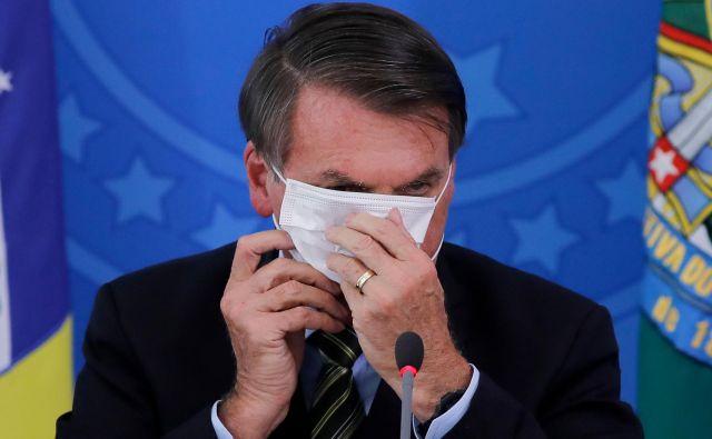 Jair Bolsonaro ima koronavirus. FOTO: Sergio Lima/AFP