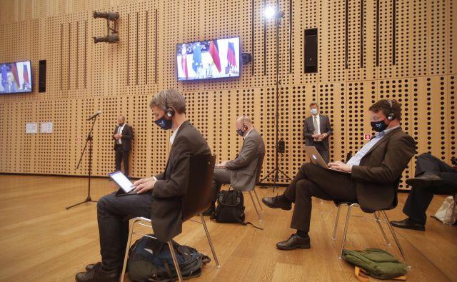 Na vprašanja, ali bodo trojček medijske zakonodaje predstavili oziroma kdaj ga bodo vložili v parlamentarno proceduro, na ministrstvu za kulturo niso odgovorili. FOTO: Jure Eržen/Delo