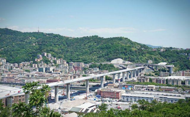 Novi viadukt v Genovi. FOTO: Mikedotta/ Shutterstock