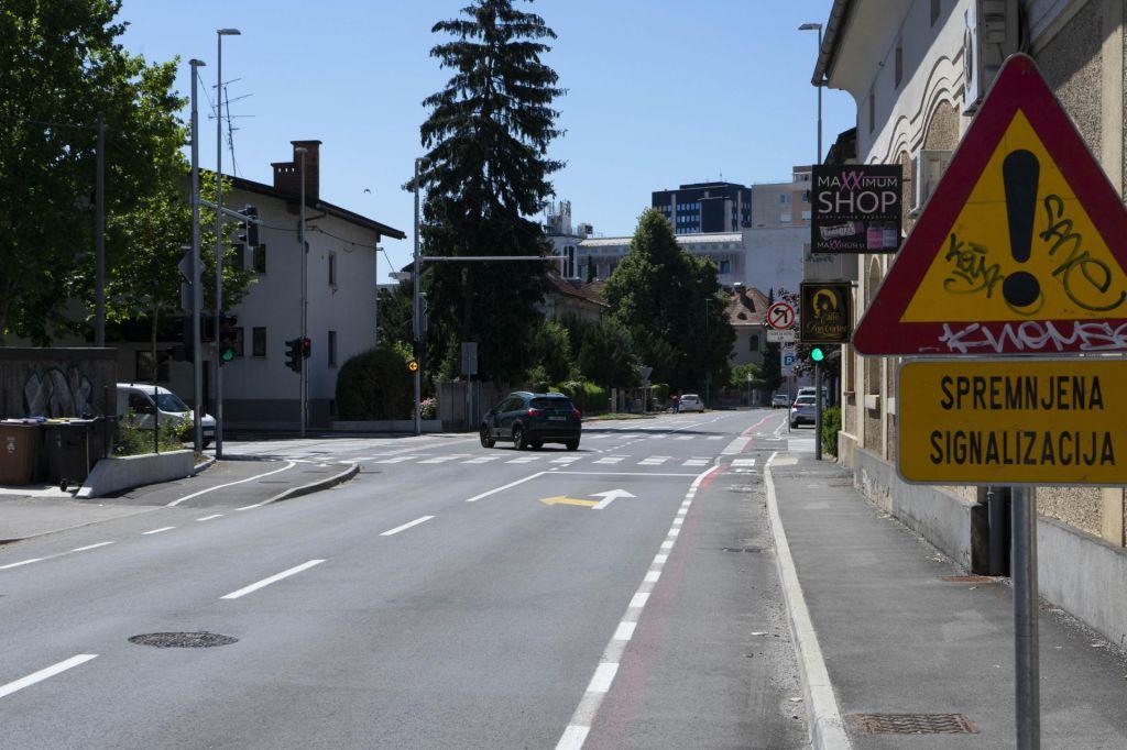Križišče Parmove in ulice Bežigrad ni tranzitno
