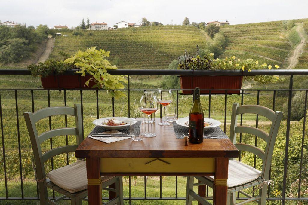 FOTO:Namesto v Toskano raje v Goriška Brda