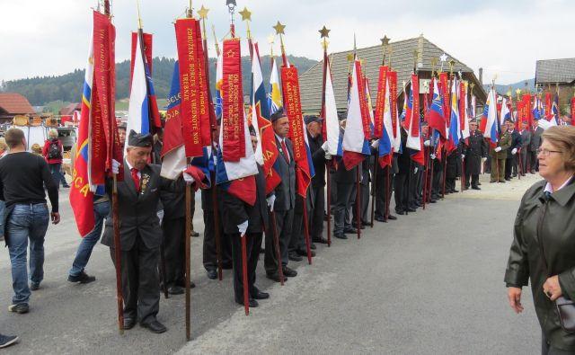 V Zvezi združenj borcev za vrednote NOB podpirajo vrnitev Narodnega doma, a so zgroženi nad tem, da se bo predsednik Borut Pahor poklonil spomeniku pri bazoviški fojbi. Foto Bojan Rajšek
